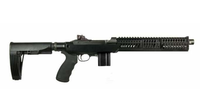 The Inland M30-P .30-Cal Pistol Features Sage EBR Chassis, Arm Brace