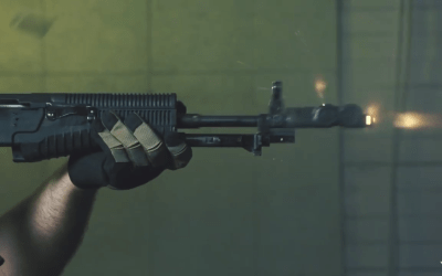 Watch: Larry Vickers fires the interesting Russian AN-94 weapon system