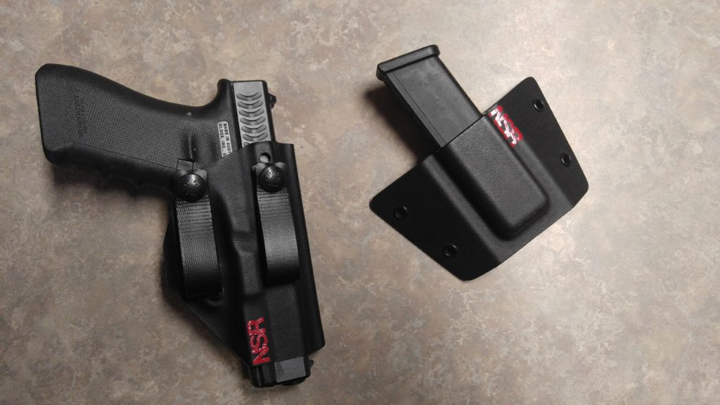 The NSR C4 Holster and Pocket Magazine Carrier - A Complete CCW system