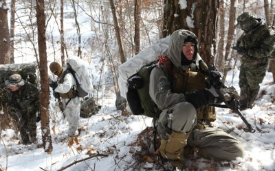 Loadout Room photo of the day | Recon Marines prepare for extreme hike in South Korea