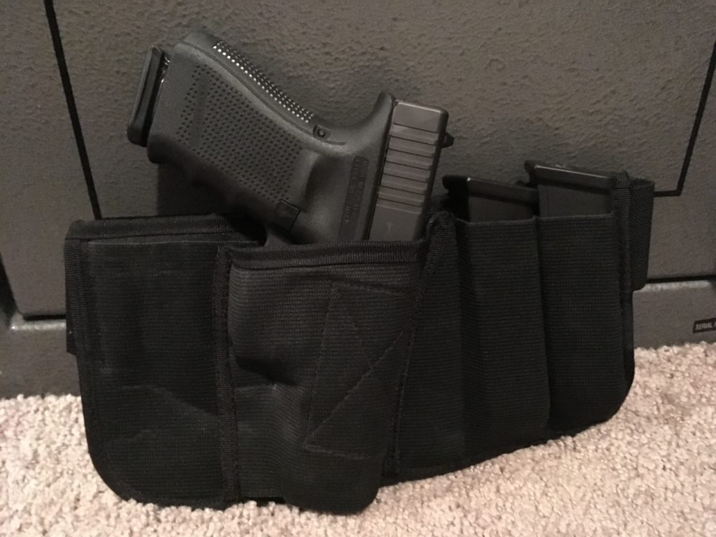 Brave Response Holster: The most comfortable, highest capacity Concealed Weapons Holster in the world