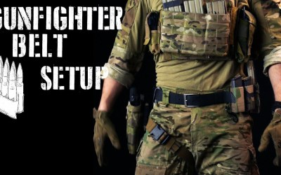 Watch: Gunfighter belt setup / First line gear (2018 ver)