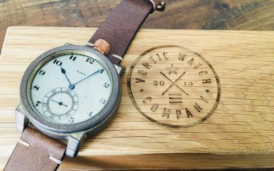 Push pause on tactical: Vortic Watch Company bringing historical American timepieces back to life