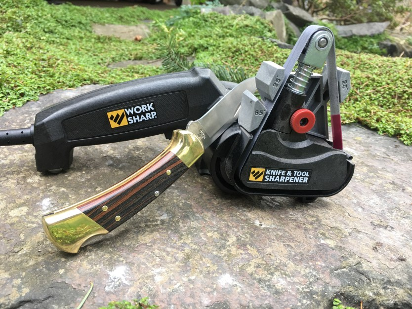 Work Sharp Knife and Tool Sharpener, First Impressions