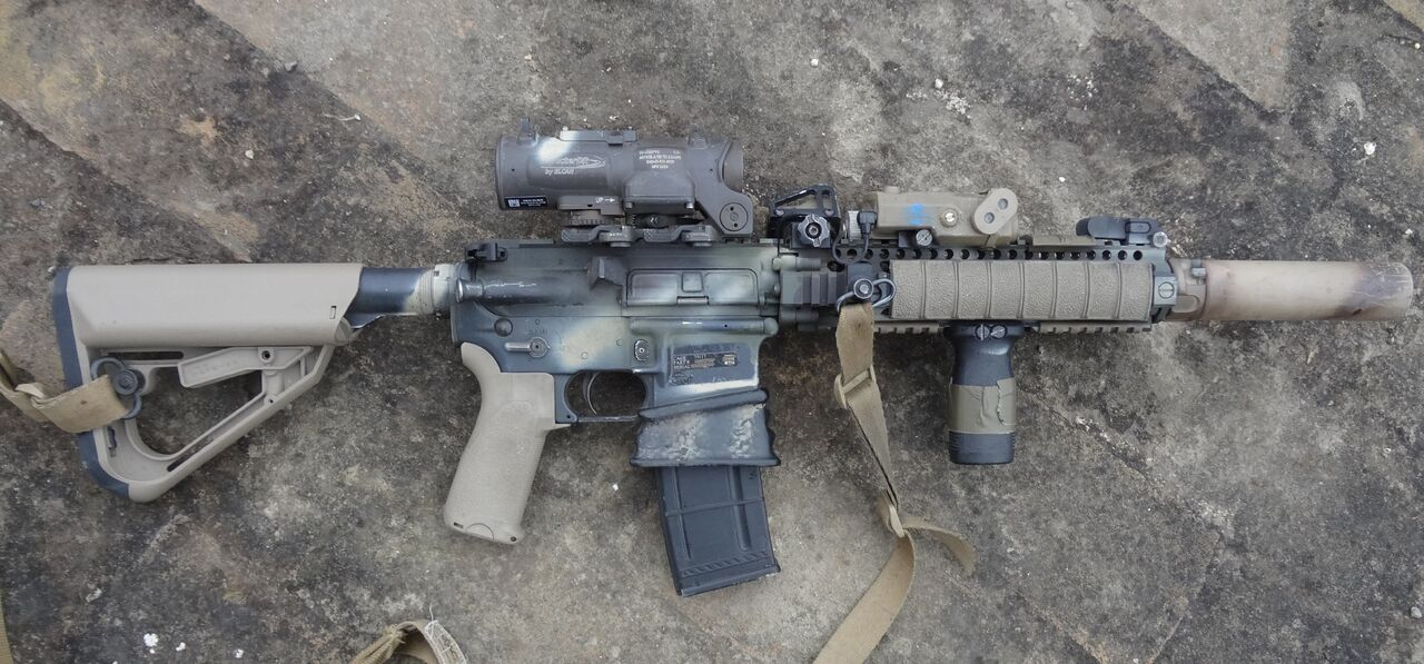 Mounting IR Laser on Your M-4 Carbine:You're Probably Doing