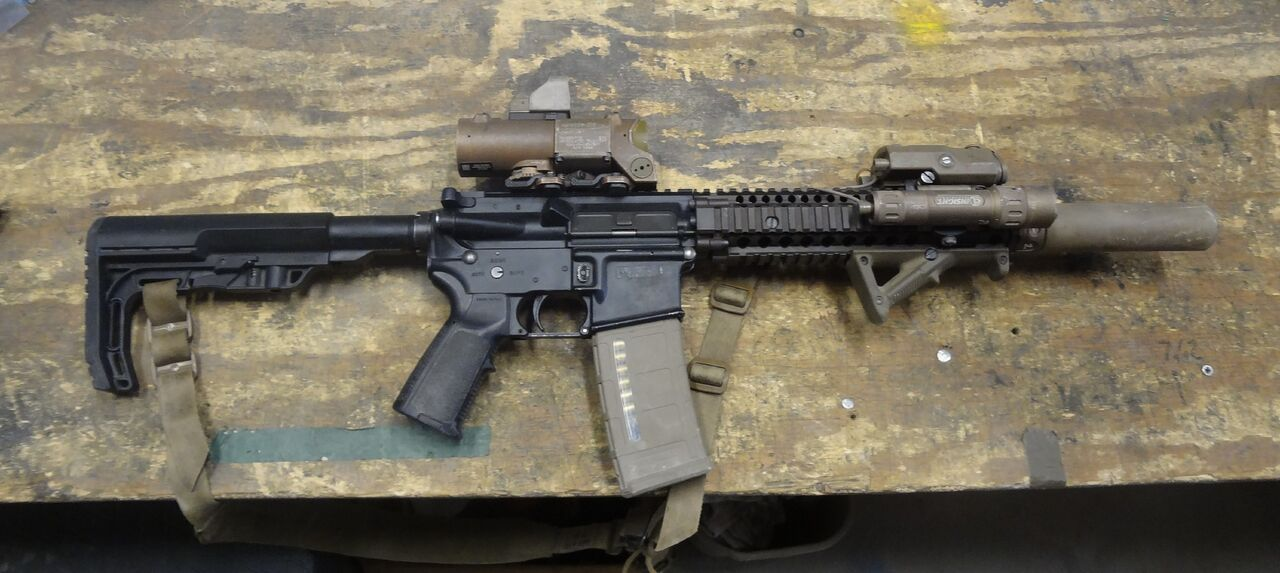Mounting IR Laser on Your M-4 Carbine:You're Probably Doing It Wrong