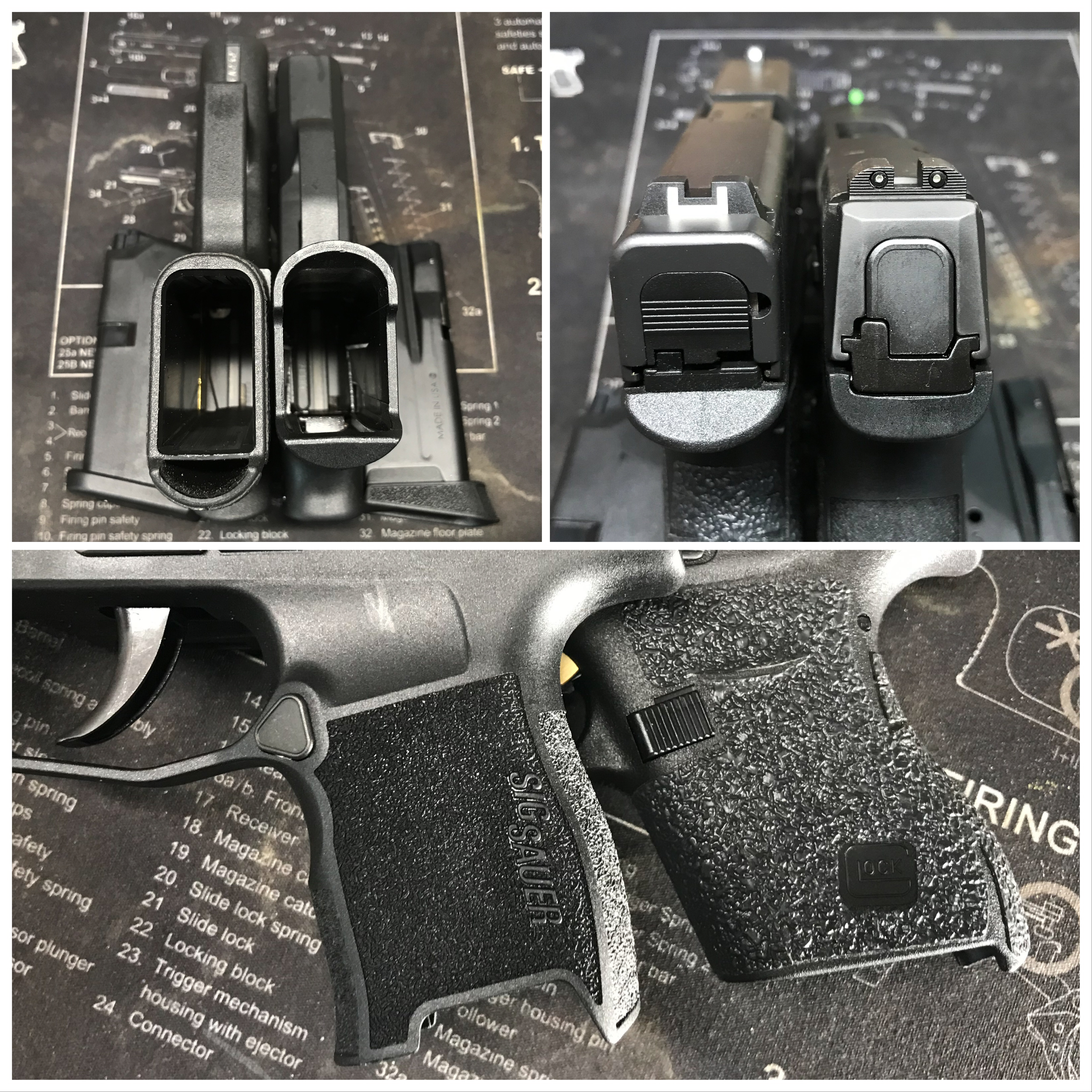 Sig Sauer P365 vs  Glock 43 | Size matters | The Loadout Room