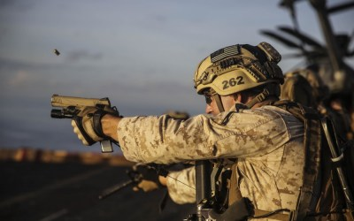 Loadout Room photo of the day: U.S. Marines enhance marksmanship at sea