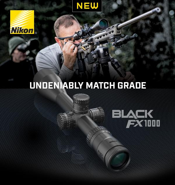 Nikon Introduces Match-Ready First Focal Plane Riflescope