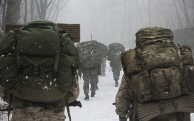 Loadout Room photo of the day: US, ROK Marines ruck over mountains