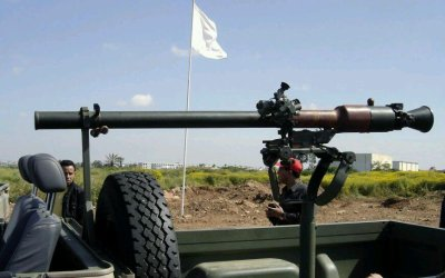 Watch the Kurdish Peshmerga train with the SPG-9