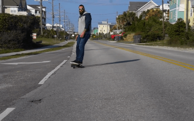 Watch: Super Fast WOWGO Skateboard!