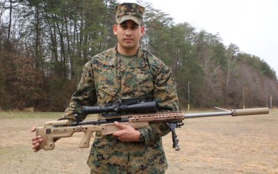 The Marine Corps upgrades its sniper rifle
