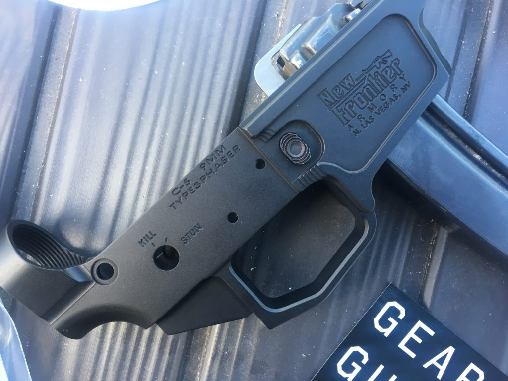 Best 9mm AR Build Ever: New Frontier Armory's C-5 AR Lower Uses MP5 Magazines