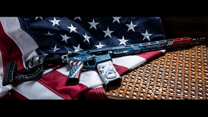 Rise Armament Creates Special Edition 'Patriot Rifle' for Folds of Honor