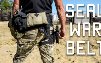 How a Navy SEAL Sets Up his War Belt/Duty Belt: Tactical Rifleman Video