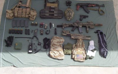 CIA Ground Branch Loadout