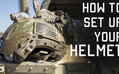 How Special Forces Sets up a Helmet for Combat: Tactical Rifleman Video