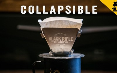 How to Make Coffee with the BRCC Collapsible Pour Over Coffee Device