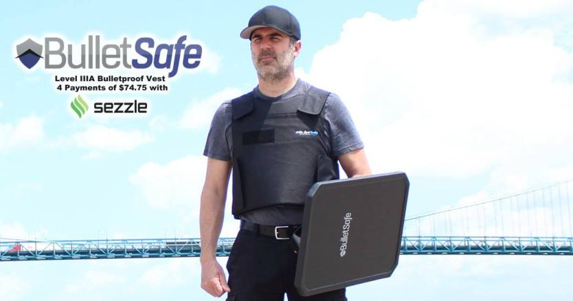 BulletSafe Introduces A Smart Way To Pay For A Bulletproof Vest