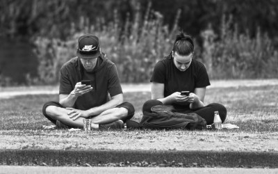 Crate Club | A lesson to all about staring at your cell phone