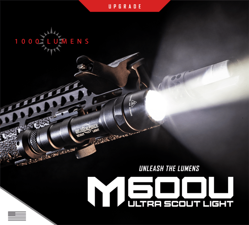 Unleash the Lumens | Upgraded 1,000 Lumens M600 Ultra Scout Light
