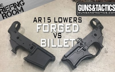 AR15 Billet vs Forged