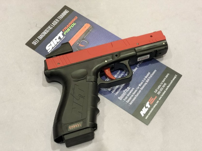 New to Pistol Optics? The SIRT Pistol Optical Trainer Builds Repetitions