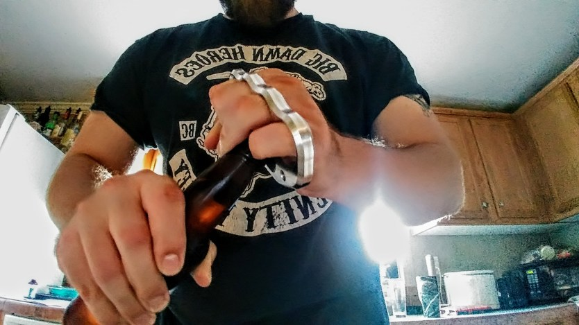 The Empire Tactical Brass Knuckles