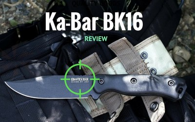 Ka-Bar Becker Knife BK16 Short Drop Point Review