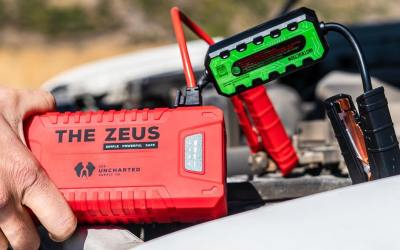 The Zeus | The most powerful car battery jump pack?