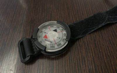 The Suunto M9 Wrist Compass