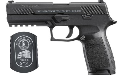 Virginia Division of Capitol Police Selects SIG SAUER P320