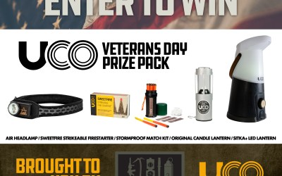 Loadout Room & UCO Veterans Day Prize Pack Giveaway