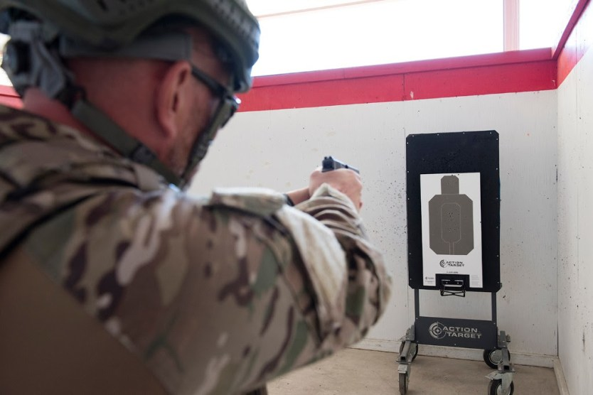 Action Target's New Bullet Trap Lifter Enhances Military & Law Enforcement Training