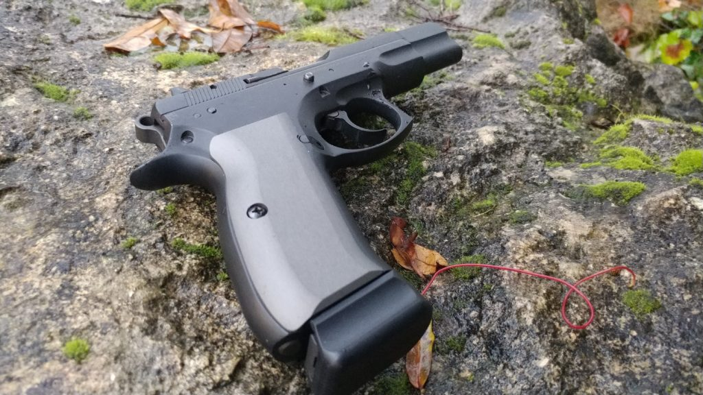 Alumagrips Hits us with CZ 75 grips