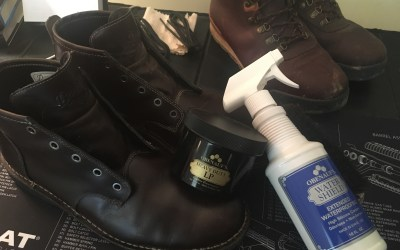 How to winterize your leather footwear using Obenauf's