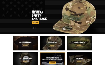 MultiCam Launches New Webstore