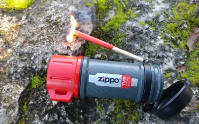 Zippo Typhoon Match Kit: Light it up