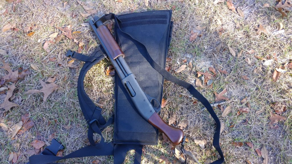 The BCS Shotgun Scabbard: Handy for close encounters