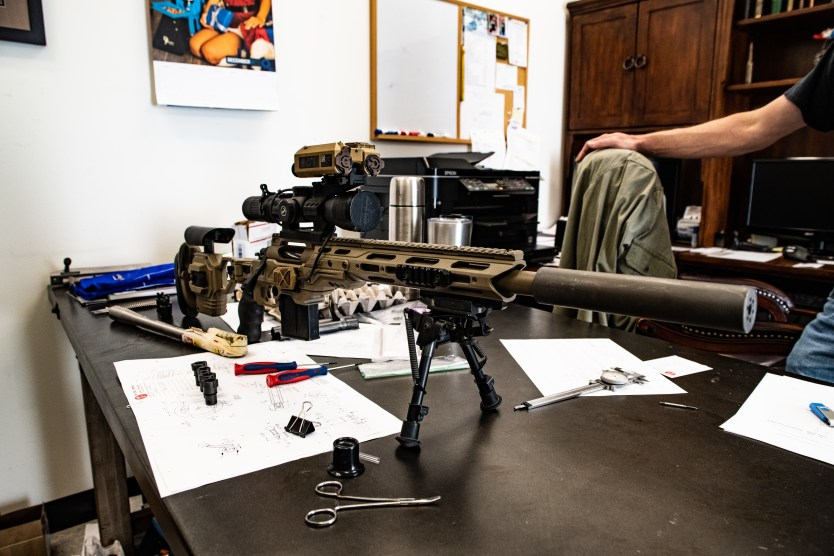 Photo of the day: JJ Rock Co.'s newest backpack sniper rifle system