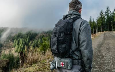 The new TQ (Thirst Quencher) Hydration EDC Pack from Grey Ghost Gear