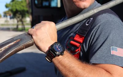 NFW Watch Company FireFighter tribute watch