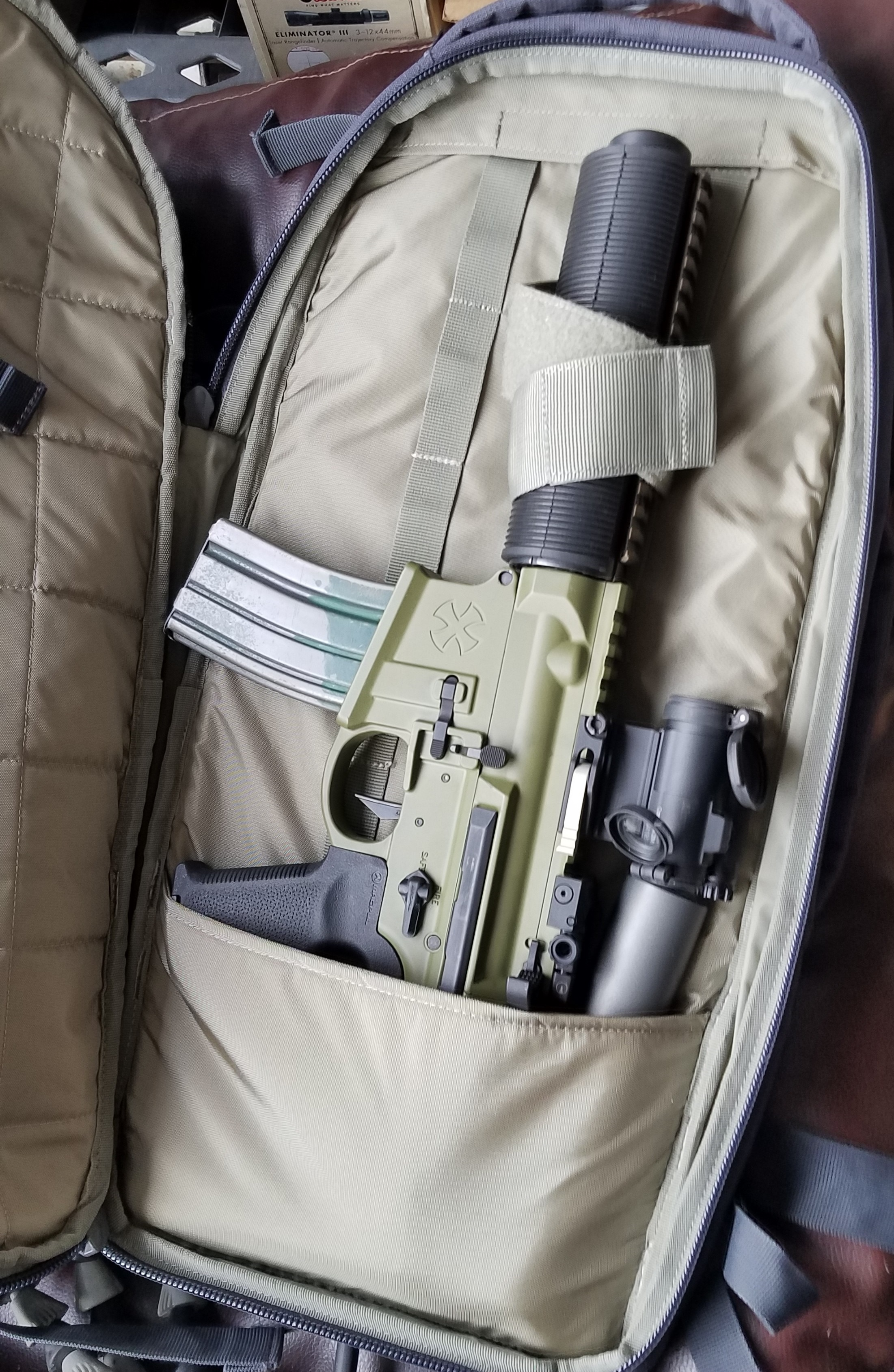 Photo of the day: 5.11 AMP72 as an SBR backpack