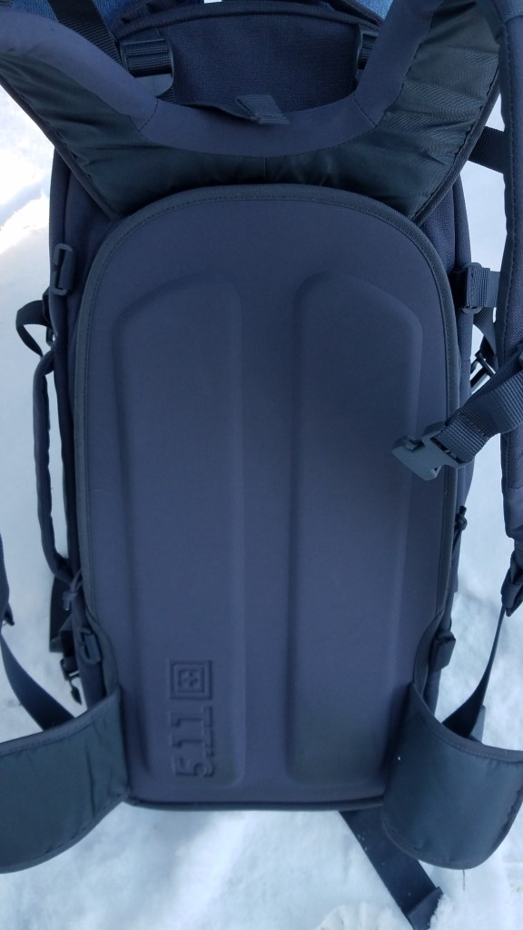 5.11 AMP 72 pack: Carrying its own weight