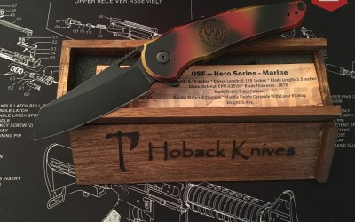 A quick look at the Hoback Knives Hero Series Marine