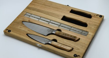 Camp kitchen duties just got a lot more fun | PDW Field Kitchen Knife Set
