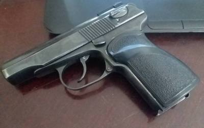 The Russian Makarov service pistol