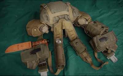 Old school Marine Corps 782 gear and how it relates to modern day survival gear