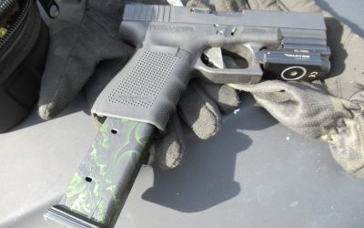 Going hot testing the new 27 round Glock PMAG in the AR9